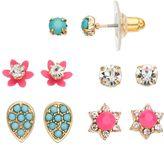 Lauren Conrad Flower, Star & Teardrop Nickel Free Stud Earring Set