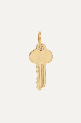 Catbird + Net Sustain Key 14-karat Gold Charm - one size