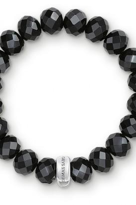 Thomas Sabo Ladies Sterling Silver Charm Club Bracelet X0035-023-11-S