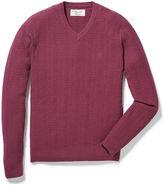 Original Penguin Donegal Herringbone V-Neck Sweater
