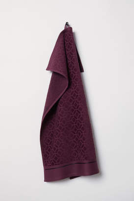 H&M Jacquard-weave Hand Towel - Red