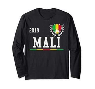 Mali Football Jersey 2019 Mali Soccer Jersey Long Sleeve T-Shirt