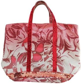 Vanessa Bruno Cabas Red Glitter Handbags