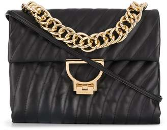 Coccinelle quilted chain-handle tote
