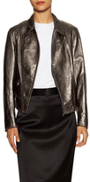 3.1 Phillip Lim Leather Minimal Boxy Motorcycle Jacket