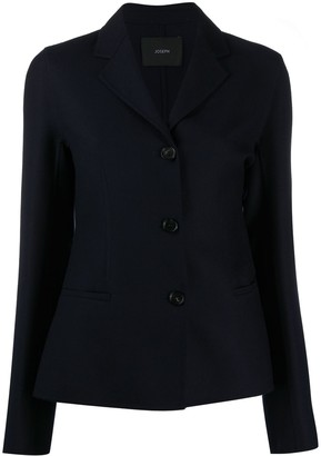 Joseph Fitted Single-Breasted Blazer