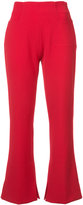 Roland Mouret flared Goswell trousers - women - Elastodiene/Polyester/Viscose - 8