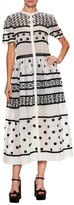 Temperley London Lizette Organdy Embroidered Maxi Dress