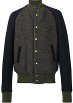 Kolor varsity bomber jacket - men - Cupro/Nylon/Wool - 2