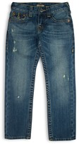 True Religion Boys' Geno Relaxed Slim Classic Jeans - Little Kid, Big Kid