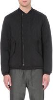 Oamc Offset zip lightweight bomber jacket