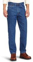 Carhartt Men's Big & Tall Relaxed Fit Tapered-Leg Jean B17