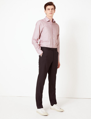 Marks and Spencer Slim Fit Easy Iron Shirt with Stretch