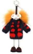 Fendi Witches Charm for Handbag, Navy/Red/Yellow