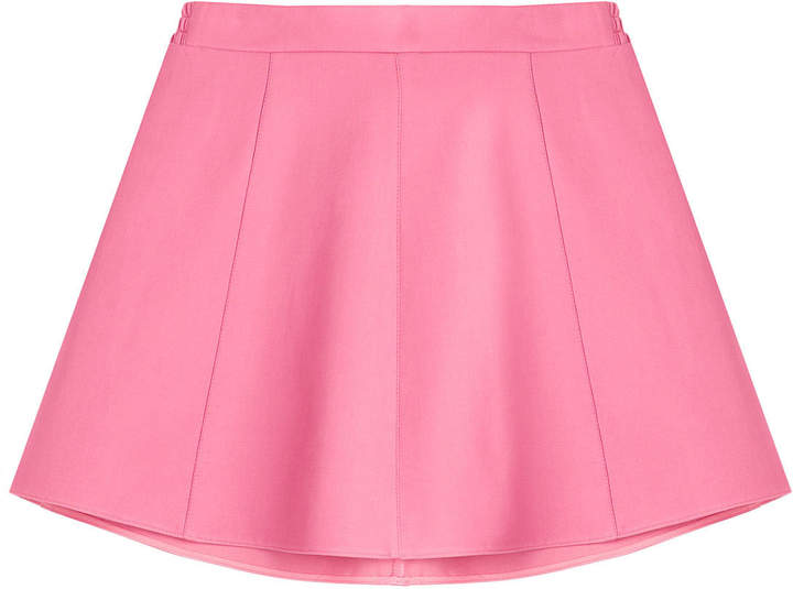RED Valentino Flared Skirt with Cotton