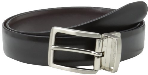 Nautica Men's Calf Grain Reversible Belt