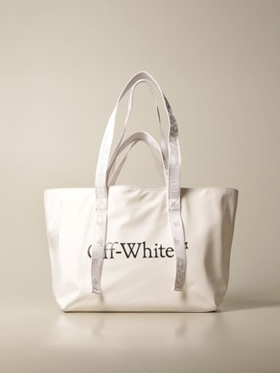 Off-White Off White Commercial Tote Bag In Nylon