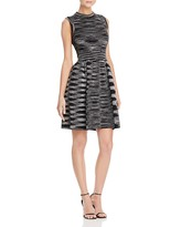 M Missoni Space Dye Fit-And-Flare Dress
