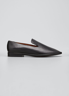 Clergerie Olympia Leather Smoking Loafers