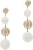 Suzanna Dai And Gold Gumball Drop Earrings