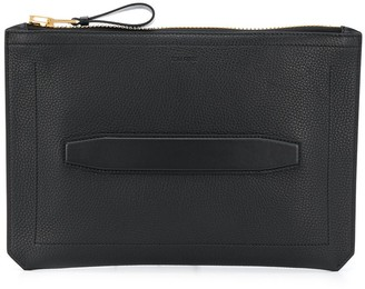 Tom Ford Pebbled Textured Clutch Bag