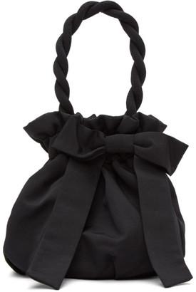 STAUD Black Grace Bow Bag