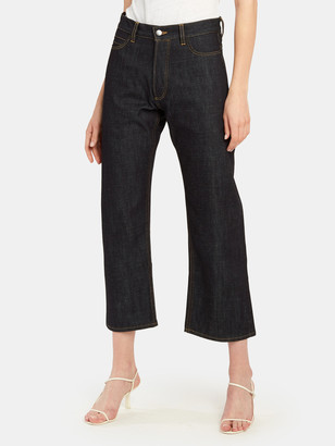 Studio Nicholson Ruthe Straight Leg Crop Pants