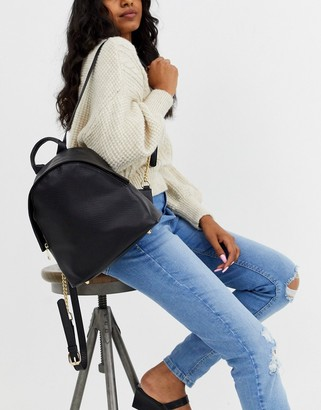 Truffle Collection Truffle black snake backpack