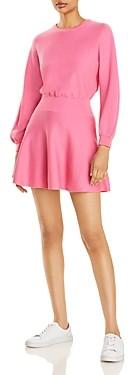 Alice + Olivia Murray Balloon Sleeve Mini Dress