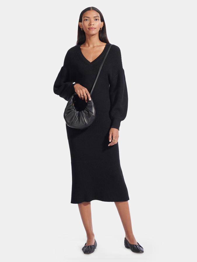 STAUD Carnation Sweater Dress