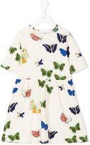 Mini Rodini butterfly flared dress