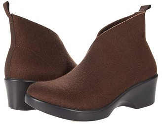 Alegria Nadya (Mocha Fleece) Women's Shoes