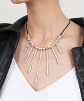 Yu & Shi Women's Necklaces ANTIQUE - Silvertone Ray Bib Necklace