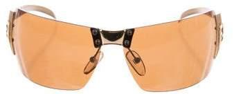 Fendi Rimless Logo Sunglasses