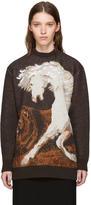 Stella McCartney Brown Pegasus Sweater