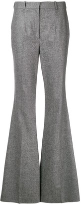 Michael Kors High-Waisted Flared Trousers