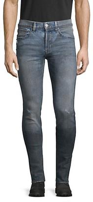 Hudson Distressed Axl Skinny Jeans