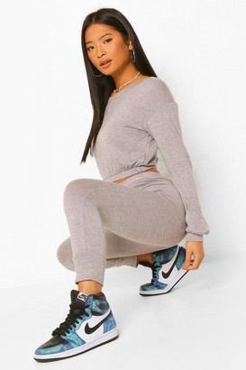 boohoo Petite Knitted Joggers