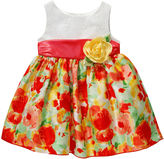 Youngland Young Land Eyelet Bodice Dress - Toddler Girls 2t-4t