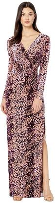 Rachel Zoe Dianora (Dark Purple) Women's Dress
