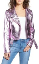 Lovers + Friends Women's Grant Metallic Jacket