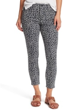 Sanctuary Printed Skinny Ankle Jeans