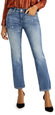 INC International Concepts Inc Petite Straight-Leg Jeans, Created for Macy's