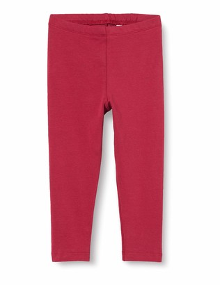 Sanetta Girls' Leggings deep red 5 Years