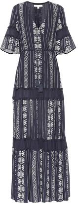 Jonathan Simkhai Striped maxi dress