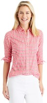 J.Mclaughlin Lois Shirt in Gingham
