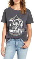 Junk Food Clothing Women's Jimi Hendrix Graphic Tee