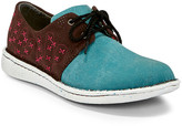 Justin Boots Women's Oxfords - Turquoise & Brown Cactie Oxford - Women