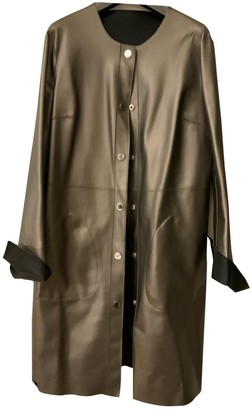 Pinko Silver Trench Coat for Women