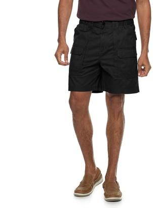 Croft & Barrow Men's Side-Elastic 7.5-inch Cargo Shorts
